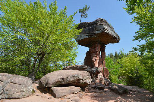Devil's Table, Natural Monument, Palatinate Forest