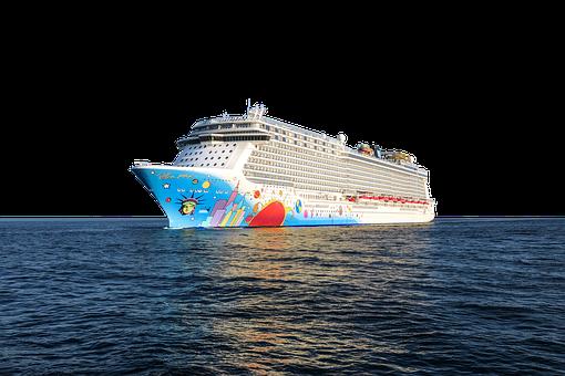 Cruise Ship, Norwegian-breakaway, Transparent