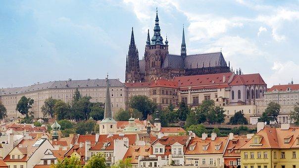 Prague, Prague Castle, Castle, The Seat Of The Kings