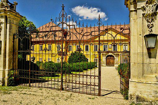 Architecture, Castle, Castle Marchegg, Old, Sky, Summer