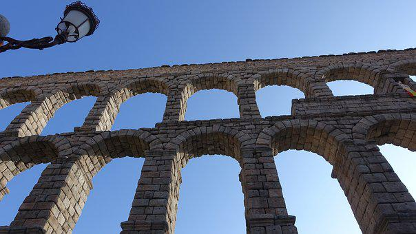 Architecture, Stone, Arch, Aqueduct, Ruins, Old