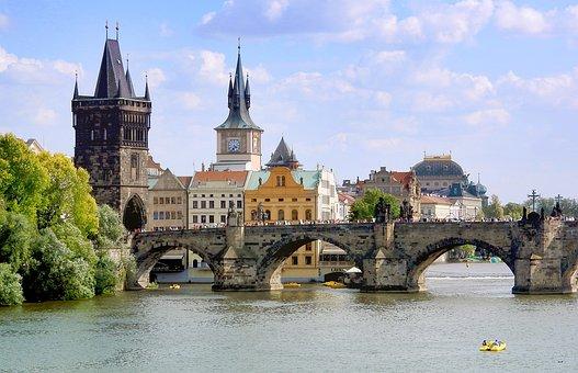 Charles Bridge, The Old Town Bridge Tower, Prague