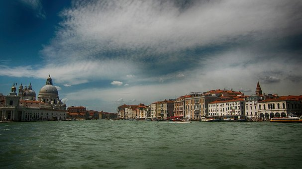 Venice, Holiday, Italy, Channel, Water, Architecture