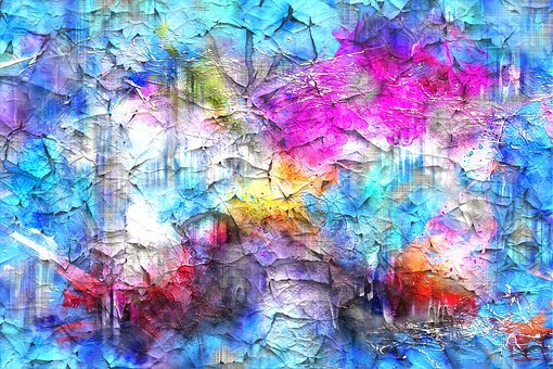 Background, Crackle, Art, Abstract, Watercolor, Vintage
