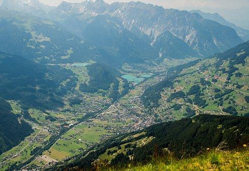 Hochjoch, Panorama, Schruns, Montafon, Vorarlberg