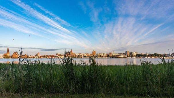 Rostock, Warnow, Hanseatic City, Landscape