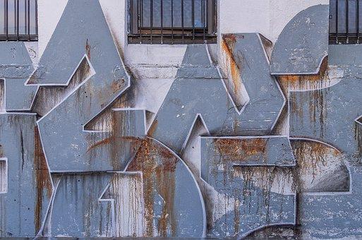 Graffiti, Graffiti Art, Graffiti Wall, Abstract, Grunge