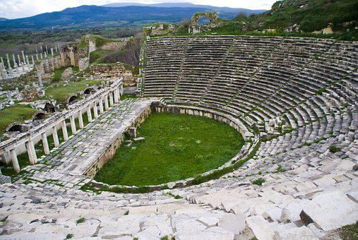 Amphitheater, History, Architecture, Old, Antique