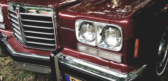 Pontiac, The Headlights, Classic, Auto, Luxury