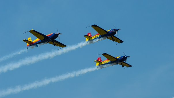 Plane, Airshow, Fly, Aviation, Aerobatic, Air Show
