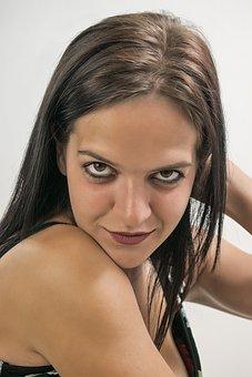 Woman, Eyes, Portrait, Beautiful, Attractive, Eye