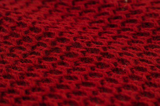 Fabric, Red, Texture, Model, Decoration, Beautiful