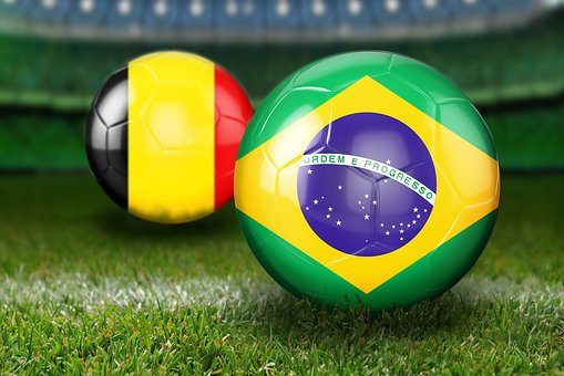 Quarter-finals, World Cup 2018, Russia, Brazil, Belgium