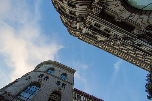 Clouds, Buildings, Building, Architecture, Sky, City