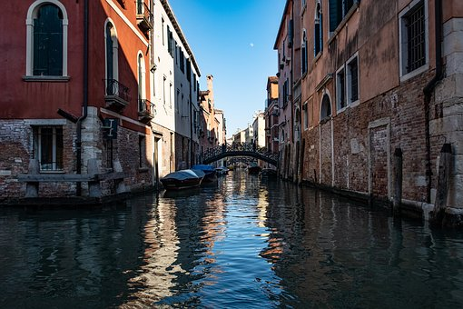 Venice, Canal, City, Italy, Water, Romantic, Tourism