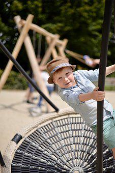 Playground, Boy, Kid, Child, Outdoor, Happy, Swing