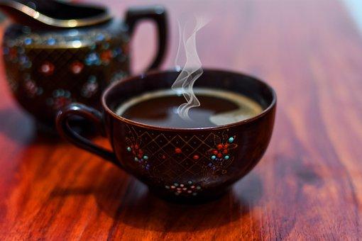Coffee, Cup, Drink, Caffeine, Table, Breakfast