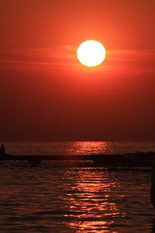 Sunset, Sun, Evening, Dusk, Romantic, Lighting, Light