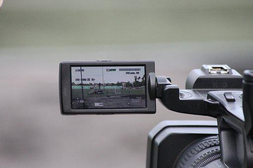 Camcorder, Sony, Tv, Lens, Equipment, Microphone