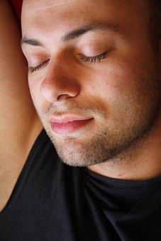 Male, Sleep, Exposure, Model, Young, Portrait, Contact