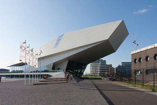Eye, Filmmuseum, Amsterdam, Architecture, Museum