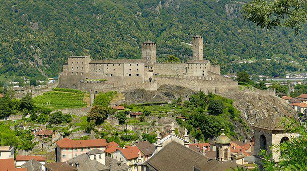 Fortress, Castle, Wall Ring, Middle Ages, Fixing
