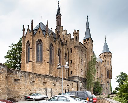 Castle, Hohenzollern, Fortress, Places Of Interest