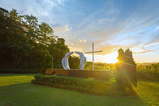 Park, Garden, The Ark Of The Covenant, Cherubim, Angel