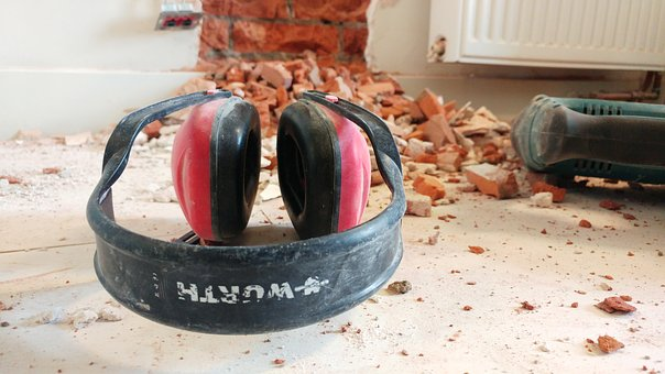 Construction Worker, Hearing Protector