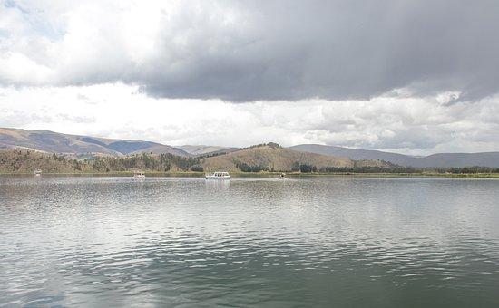 Laguna, Sky, Clouds, Sierra, Blue, Summer, Holiday