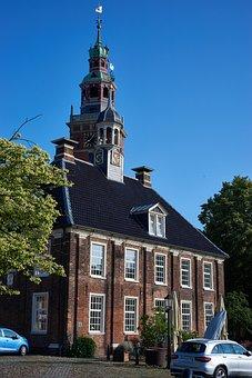 Horizontal, Empty, East Frisia, Holiday Area, Summer