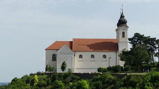 Church, Tihany, Hungary, Architectural, Church Tower