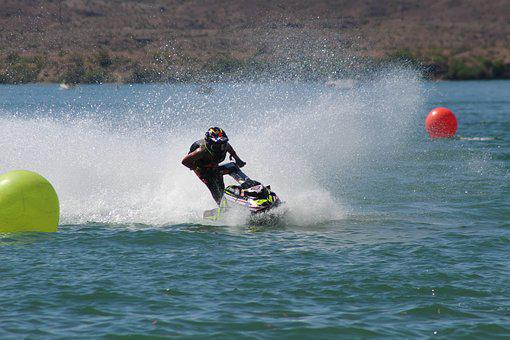 Competition, Water, Lake Havasu, Sport, Race