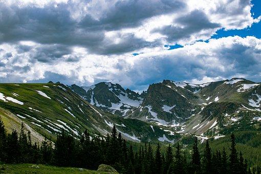Colorado, Rocky Mountains, Landscape, Scenic, Mountain