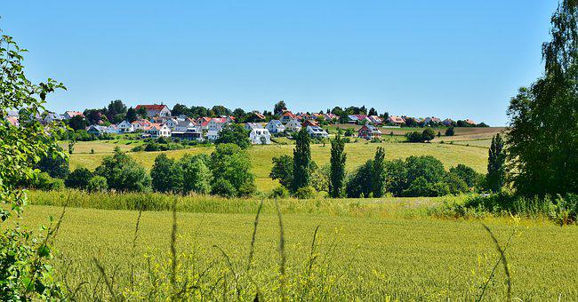 Landscape, Rural, Scenic, Summer, Rest, Idyll