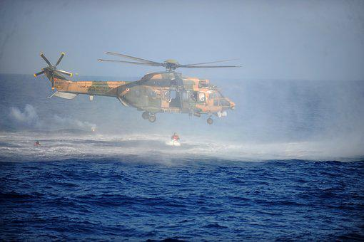 Helicopter, Marine, Search, Recovery, Security