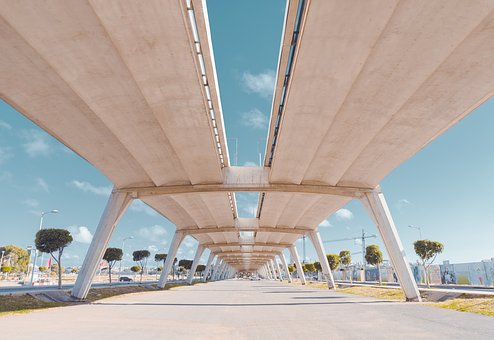 Bridge, Rabat, Morocco, Architecture, Design, Urban