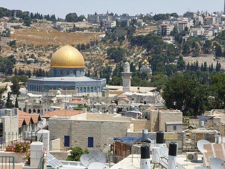 Jerusalem, Israel, Temple Mount, Religion, Mosque