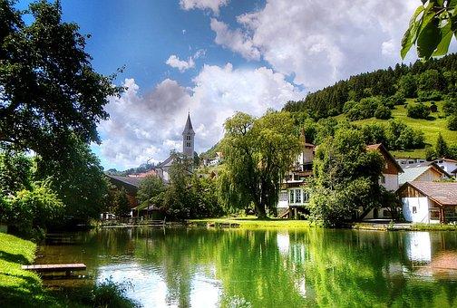 Fiss, Ladis, Tyrol, Austria, Mountains, Nature, Outlook