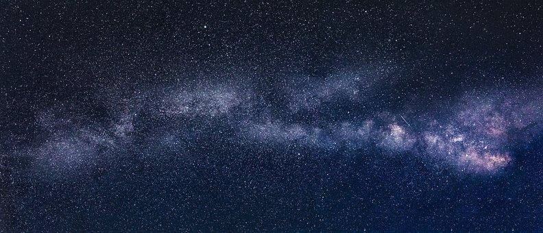 Milky Way, Star, Night, Starry Sky, Long Exposure