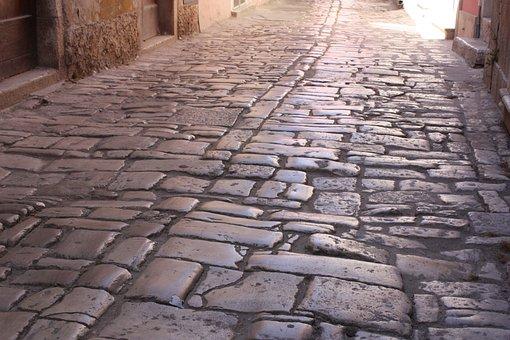 Paving Stones, Close Up, Road, Architecture, Nostalgia
