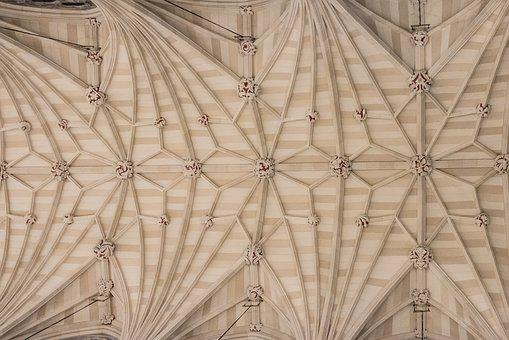 Cathedral, Church, Ceiling, Temple, Masons, Old