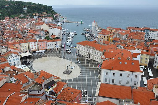 Piran, Slovenia, History, Architecture, Marine, Church