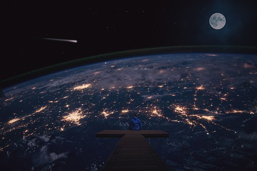 Space, Illustration, Planet, Technology, Adventure
