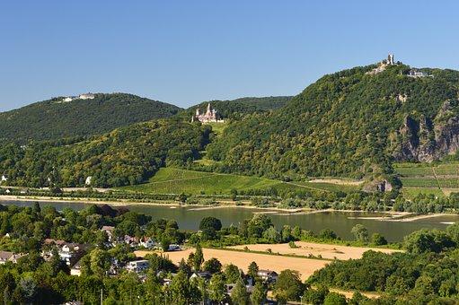 Dragon Rock, Rhine Valley, Rhine, Bonn, Tourism