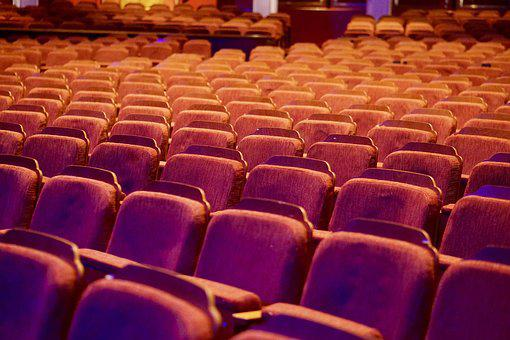 Auditorium, Theatre, Seats, Rows, Theater, Chairs, Show