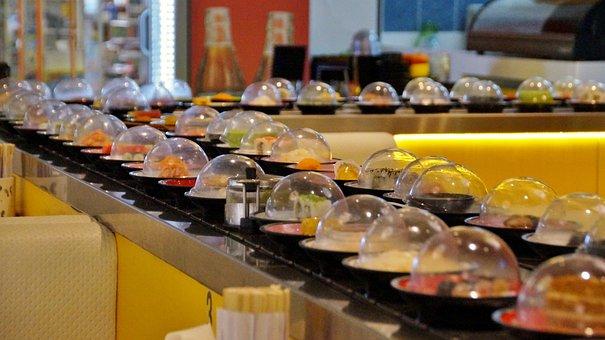 Running, Sushi, Asian, Restaurant, Jezdídí, Food, Maki