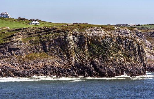 Cliffs, Sea, Coast, Summer, Shore, Coastline, Nature
