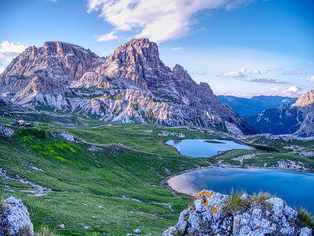 Dolomites, Bergsee, South Tyrol, Unesco World Heritage