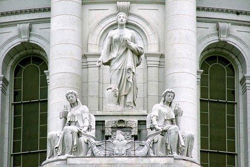 Prosperity And Abundance, Statuary, Sculpture